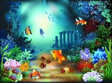 精美海底世界