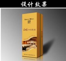红酒 包装 葡萄酒包装设计 (注平面图)图片