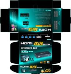HDMI 包装盒图片