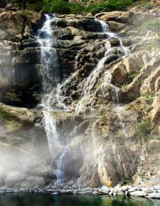 贺兰口瀑布图片