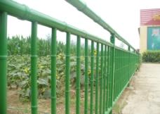 仿竹护栏图片