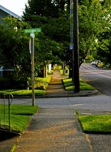 城市街道图片