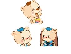 卡通小熊图片