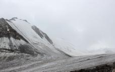 天山一号冰川图片