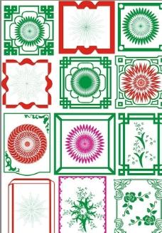 古典花边 适量花边 常用花边图片