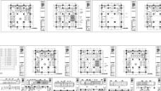 人寿保险公司 旗舰店全套施工图(含水电图及设计说明)图片