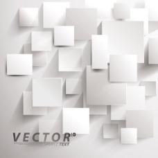 矢量素材几何方块立体图形