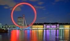 倫敦夜景圖片