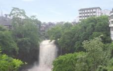 东溪瀑布图片