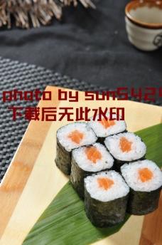 三文鱼细卷图片