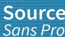 Adobe新品字体Source Sans Pro