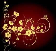 金色的花图片