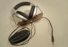 耳机眼镜图片
