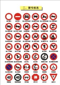 交通矢量图标 禁令标志图片