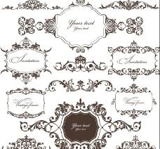 欧式花纹 花纹边框图片