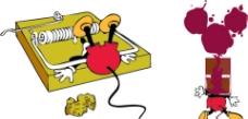米奇老鼠夾图片