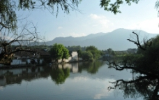 宏村南湖图片