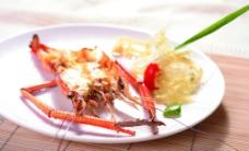 法式焗大虾图片