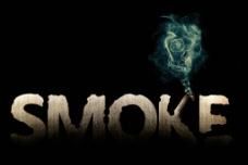 smoke字体设计