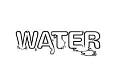 water字体设计