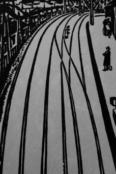 斯特凡·茨威格之莱比锡的压制插图之二 木刻版画图片