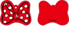 米老鼠蝴蝶结吊牌图片