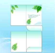 精美绿色封套设计图片