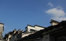 宏村 马头墙图片