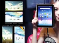 平板电脑UI界面图片