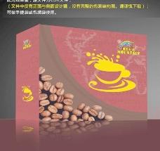 咖啡包装盒 (注平面图)图片