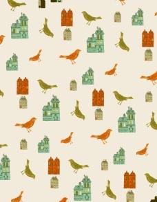 小鸟城堡图片