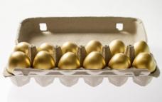 复活节 复活节金蛋图片