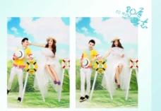 婚纱摄影相册 设计图片