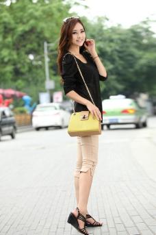 女鞋模特图片