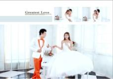 内景婚纱图片