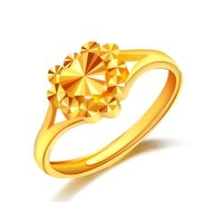 黄金戒指图片