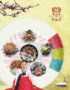 尚吕宫韩国料理贴画图片