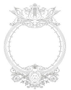 歐式邊框圖片