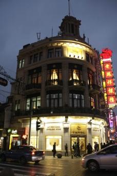 上海老凤祥银楼夜景图片