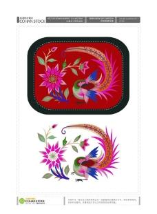 传统刺绣图案图片
