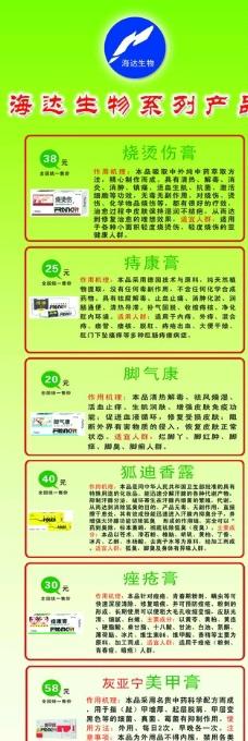 海達生物產品系列簡介圖片