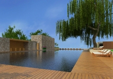 游泳池图片