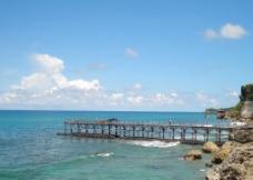 大海码头图片