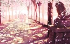 风景 樱花图片
