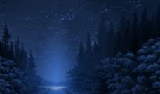 风景 夜晚图片