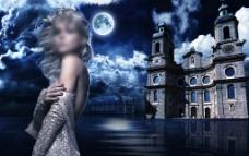 美女城堡图片