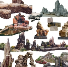 瘋狂的石頭圖片