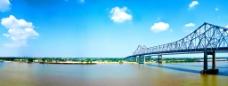 全景大桥图片