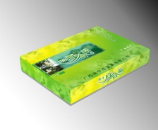 百合粉包装 (平面图)图片