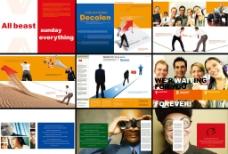 商务情境画册图片
